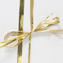 Raphlenband metallic guld