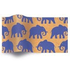 Silkespapper Elefanter
