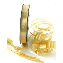 Dragrosett på rulle guldmetallic