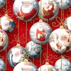 Presentpapper Santa