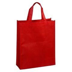 Non-woven kasse röd