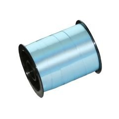 Presentband konsument metallic ljusblå