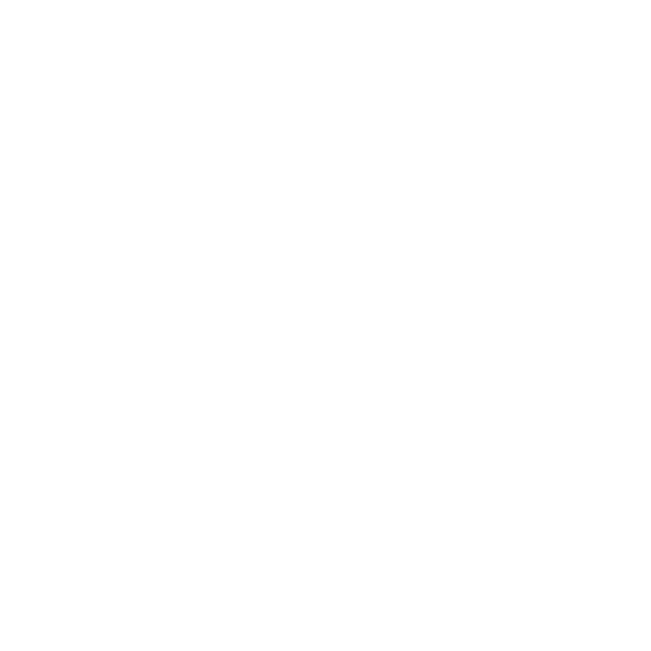 Etikett rund Fjäril svart/vit