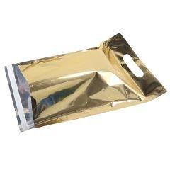 Metallic Guld E-handelspåse med handtag
