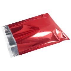 Metallic Röd E-handelspåse