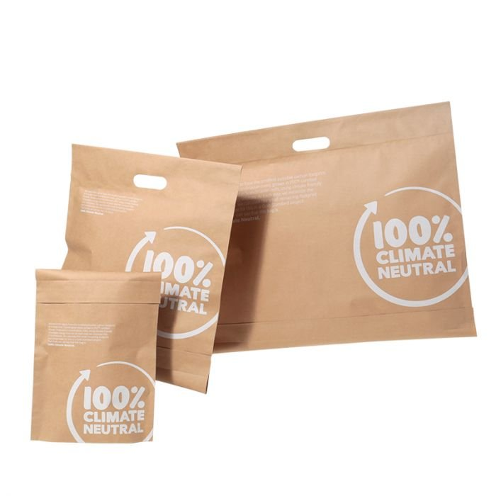 E-handelspåse papper CarryBag 100% Climate Neutral